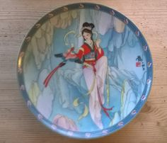 Legends of West Lake 1990 Imperial Jingdezhen porcelain plate available from Mallingbournes