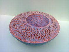 David Allnatt    |   Allnatt Ceramics Homepage  Love the colours and the textured surface!