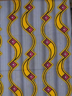 Real Wax Print African Fabric 6 Yards 100 Cotton by Africanpremier, $24.99 Design Textile, Textile Prints, Textile Patterns, Print Patterns, Fabric Design, African Print Fashion, African Prints, Fashion Prints, African Textiles