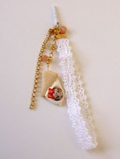 Crepe Charm  Deco Sweets/Decoden Polymer by HoriSweetsandFaeries, ¥800
