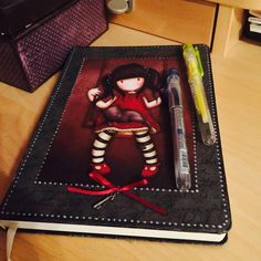 #handmade #book #gorjuss #decopage #preppy #platinum
