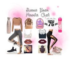 """""""Dance your pretty little hearts out"""" by astewart224 on Polyvore featuring Boohoo, Burton, Lime Crime, Sweaty Betty, Live the Process, S'well, Puma, Miss Selfridge and Mi-Pac"""
