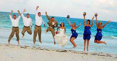 wedding on the beach <3
