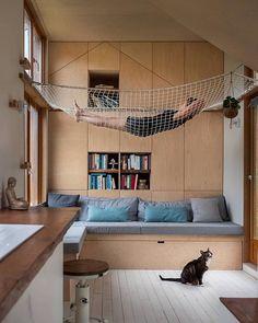 home design ideas living room Loft Interior Design, Loft Interiors, Home Projects, Home And Living, Tiny House, Architecture Design, House Plans, New Homes, House Design