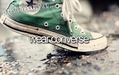 here's to the kids who wear converse