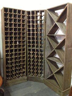 CUSTOM - Rustic Wine Rack - Handmade - Reclaimed by ReclaimedAmerica, $1200.00