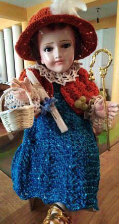 Crochet Cactus, Baby Jesus, Diy And Crafts, Sewing Patterns, Victoria, Vintage, Fashion, Calamari, Kids Fashion