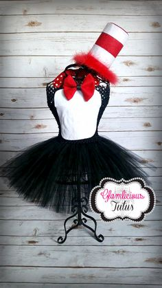 Penguin Tutu Dress Tuxedo Tutu Newborn Child by GlamliciousTutus