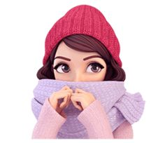 Version 2 for winter and Christmas, I hope you like this cute girl :)