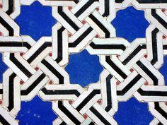 Zellij. Cool tile idea