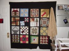 One of my UFO's... Sampler Quilt