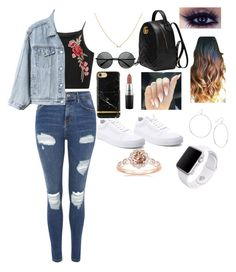 """""""Untitled #6"""" by hofer03 ❤ liked on Polyvore featuring beauty, Topshop, Gap, Vans, Gucci, MAC Cosmetics, Gorjana and Apple"""