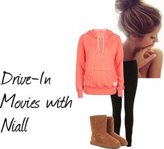 """""""Movies with Niall"""" by one-direction-outfits-1101 on Polyvore"""