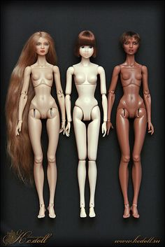 Коллекционные куклы KC Doll Top Model и японская кукла Момоко