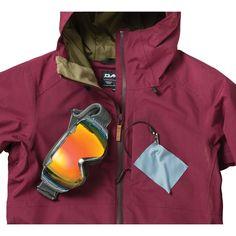 Dakine Silcox Damen Jacket Ski-/Snowboard Jacke Rosewood