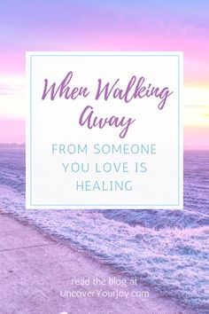 Is it wrong to walk away from someone you care about? Even if you know it's the right thing to do, how do you leave the relationship without feeling horribly guilty? Walking away from someone you love, and someone who still loves you back, is not an easy thing to do. But, it can be a crucial step towards the...