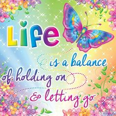 Life is a balance...~ Made by Lisa Frank