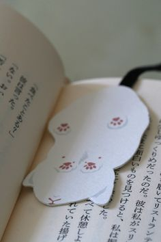 "Cat bookmark.  Support ""Southern California Cat Adoption Tails"" www.catadoptiontails.com"