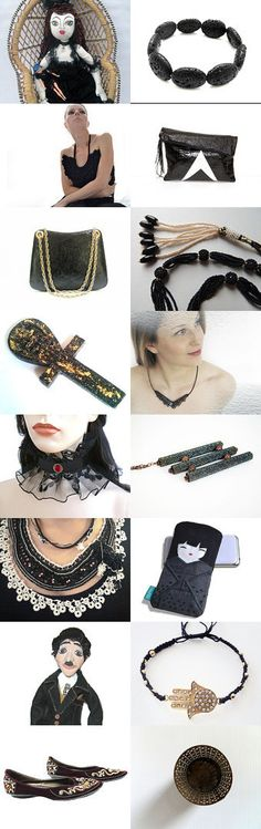 BLACK IS CHIC by Anna Margaritou on Etsy--Pinned with TreasuryPin.com