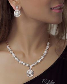 263 Likes, 1 Comments - جواهری گلستان (@ on Inst . Diamond Necklace Set, Diamond Jewelry, Silver Jewelry, Dimond Necklace, Diamond Choker, Solitaire Diamond, Uncut Diamond, Diamond Bracelets, Dainty Jewelry