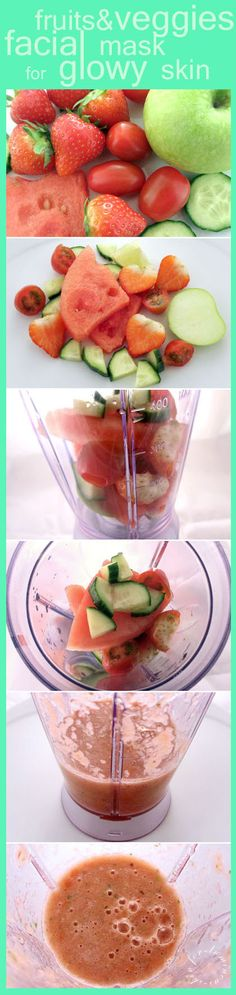 Facial Friday: DIY Fruits And Vegetables Facial Mask For Glowy Skin » Blog Archive » For Luminous Skin