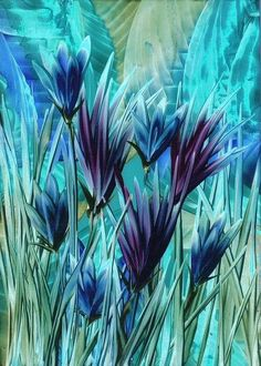 Turquoise grass  pinned with #Bazaart - www.bazaart.me