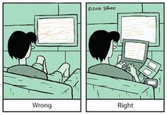 Multitasking, it's just right