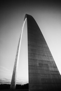 St. Louis Gateway Arch at Sunset (A0008579)