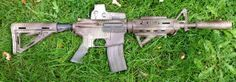 Here's a quick guide on how to spray paint a camouflage paint pattern on your airsoft gun.