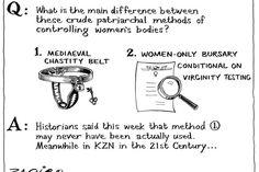 Zapiro: KZN policy goes Medieval - Mail & Guardian