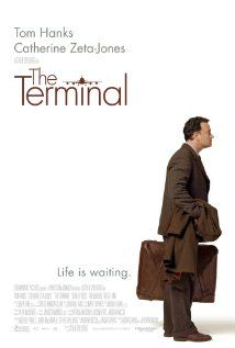 THE TERMINAL.  Director: Steven Spielberg.  Year: 2004.  Cast: Tom Hanks, Catherine Zeta-Jones and Chi McBride
