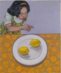 "Jeongkyu Lee, Painting, ""two lemoon"""