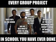 every group project at school ^^