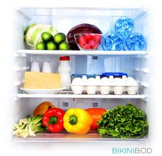 Easy Ways To Help Organize Your Fridge For Healthy Eating #mybikinibod #nutrition #healthy #fitness #workout