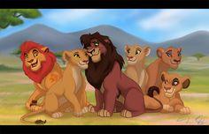 Kovu's Pride by Capricornfox
