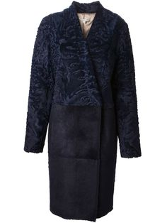 Gabriele Colangelo astrakhan panel coat