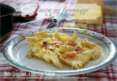 Pasta ai formaggi al forno