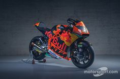 Bike of Jorge Martin, Red Bull KTM Ajo at KTM Racing launch High-Res Professional Motorsports Photography Jorge Martin, Motogp, Red Bull, Product Launch, Racing, Motorcycle, Bike, Running, Bicycle
