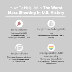 How To Help The Orlando Shooting Victims & Their Loved Ones In This Devastating Time | Bustle