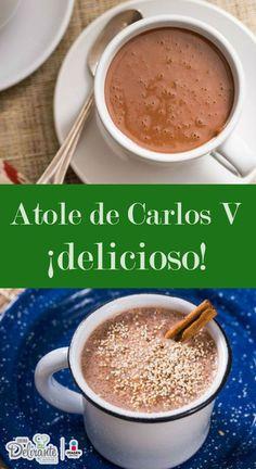 atole de chocolate carlos v | CocinaDelirante