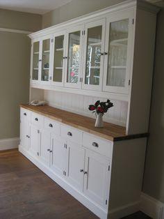Bespoke Devon Kitchen dresser - Bespoke Kitchen and Dining Room Furniture - Pine Shop Bury