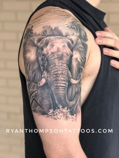 Put the finishing touches on this guy the other day! I re…, – Octopus Tattoo Father Tattoos, Dad Tattoos, Arm Tattoos For Guys, Body Art Tattoos, African Sleeve Tattoo, Arm Sleeve Tattoos, Tattoo Sleeve Designs, Elephant Head Tattoo, Elephant Tattoo Design
