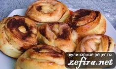 Рецепт сдобных булочек с корицей