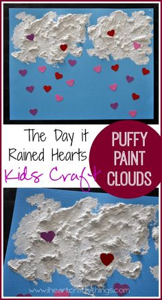 I HEART CRAFTY THINGS: The Day it Rained Hearts Valentine's Day Kids Craft