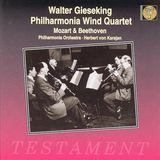 Mozart: Quintet in E flat major; Sinfonia concertante; Beethoven: Quintet in E flat major [CD]