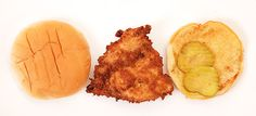 Just like the real thing, this fried chicken is quite salty. If you would like a less salty sandwich, reduce brining time to 1 hour and decrease salt in breading.