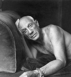 Pablo Picasso by Jacques-Henri Lartigue