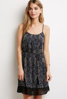 Abstract Dotted Dress | Forever 21 - 2000058714