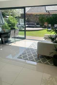 Polished tiles are exactly what they say – tiles with a highly polished finish. The esteemed polished pearl. Ideal for installation in kitchen, bathroom or living settings. Adaptable and reputable. This tile is available in 60x30, 60x60. Tile Installation, Tiles, Porcelain, Polish, Patio, Pearls, Bathroom, Outdoor Decor, Kitchen