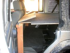 Elevated sleeping/stowage platform for JKU - JK-Forum.com - The top destination for Jeep JK and JL Wrangler news, rumors, and discussion Jeep Wrangler Camper, Jeep Jk, Jeep Truck, Wrangler Jk, Jeep Tent, Jeep Camping, Suv Trunk Organization, 2 Door Jeep, Jeep Mods